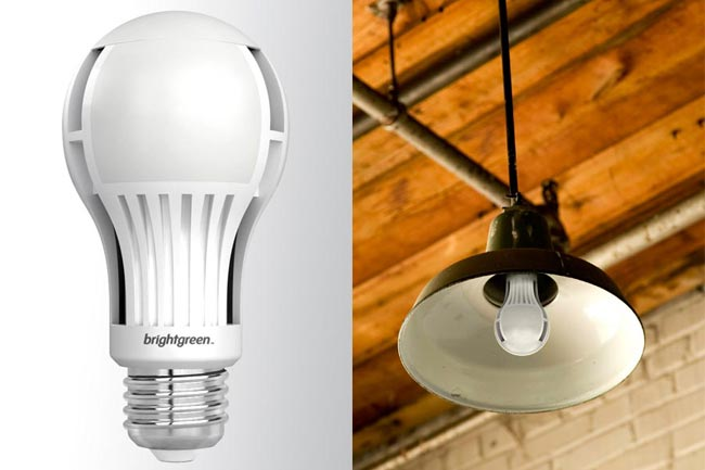 Brightgreen's LED bulb for replacing 100W incandescent bulbs
