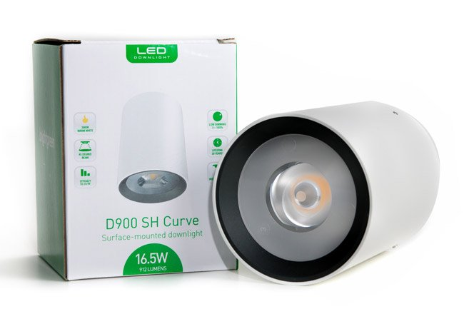 D900 SH surface mounted LED downlight with box