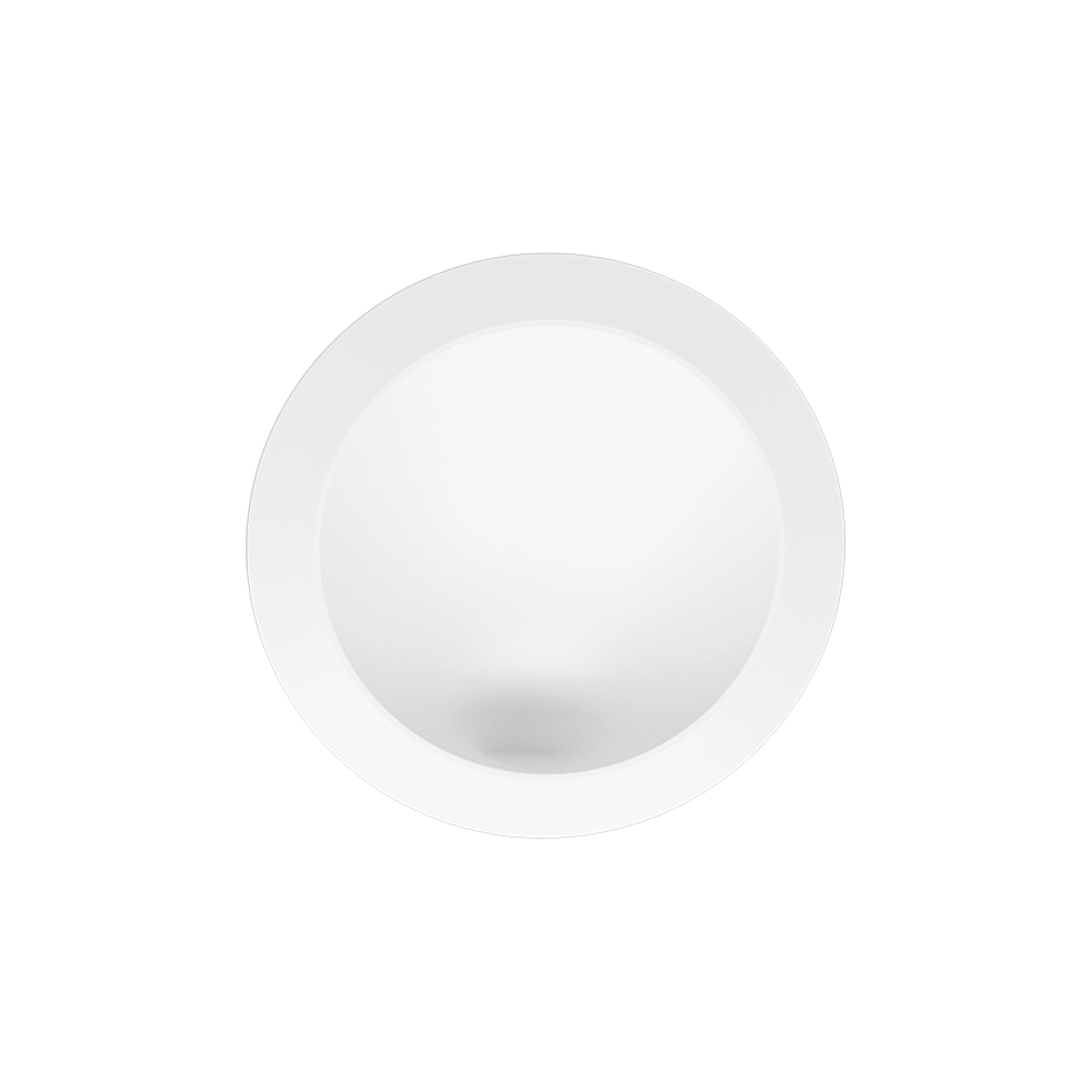 Brightgreen W900 Round Recessed LED Wall Light in Silver