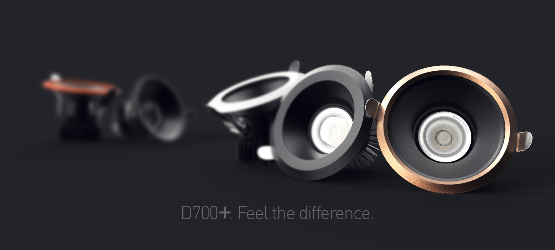 D700+ LED downlight