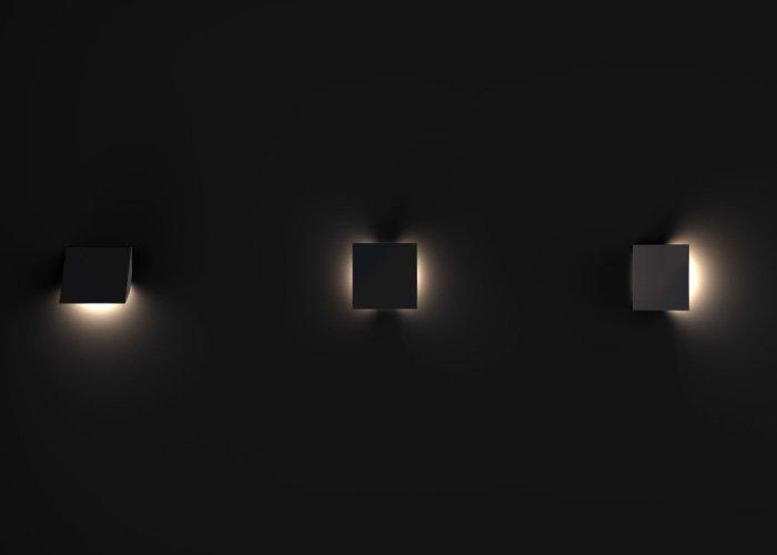 Brightgreen Brightgreen W200 SX Cube LED Wall Light